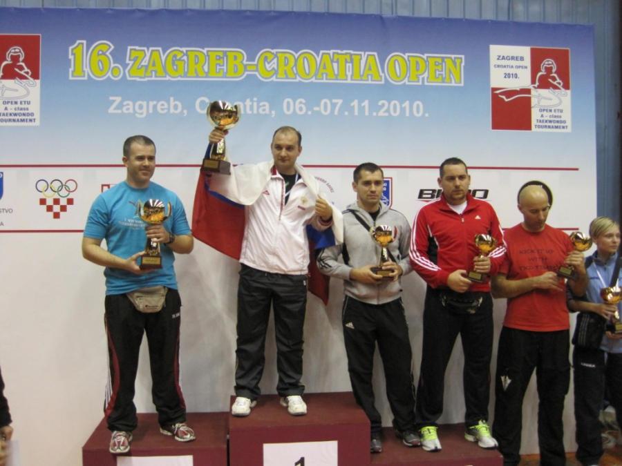 Рязанские спортсмены приняли участие в открытом чемпионате Хорватии «Croatia Open 2010»