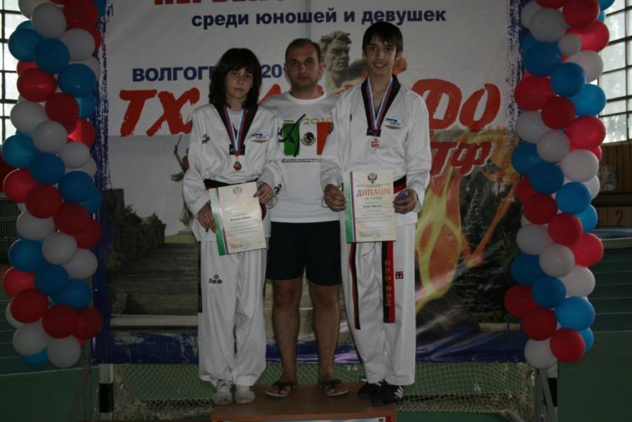 Два рязанца завоевали бронзовые награды юношеского первенства России
