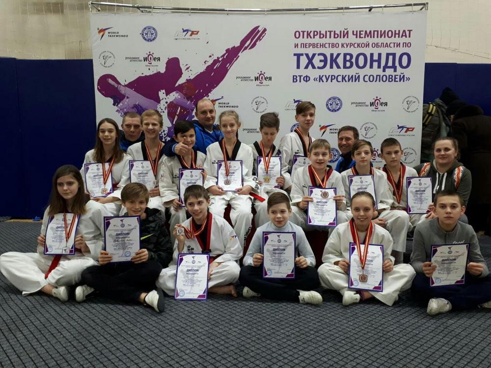 Рязанцы завоевали 17 медалей I открытого первенства Курской области «Курский соловей»