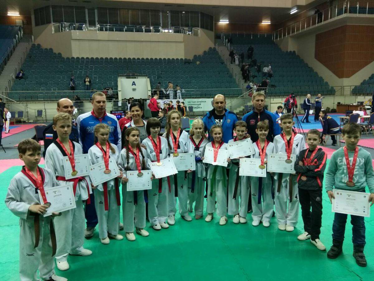 Рязанцы привезли из Одинцово 14 медалей Всероссийского турнира «Ника»