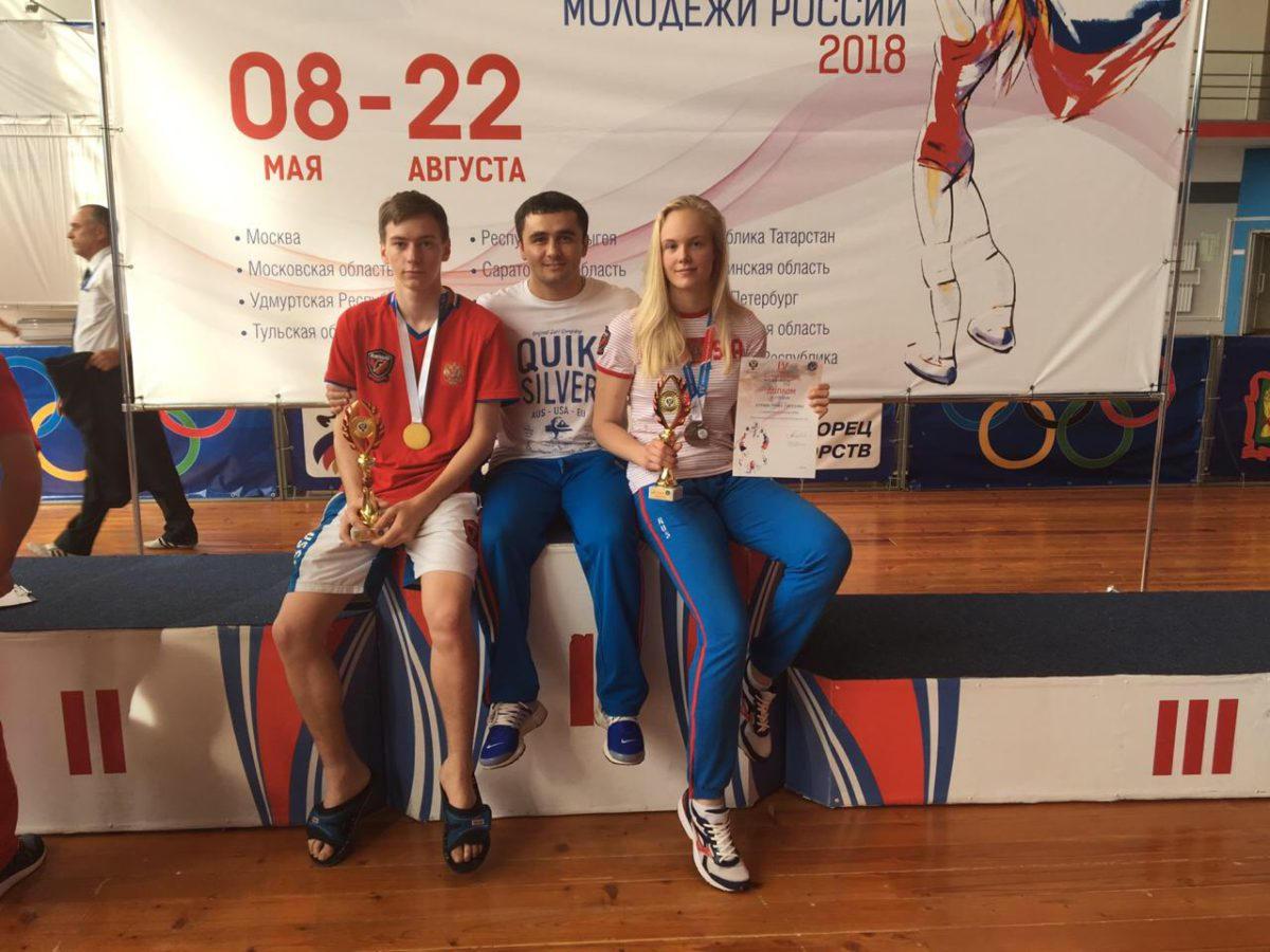 Рязанцы завоевали золото и бронзу финала IV летней Спартакиады молодёжи России