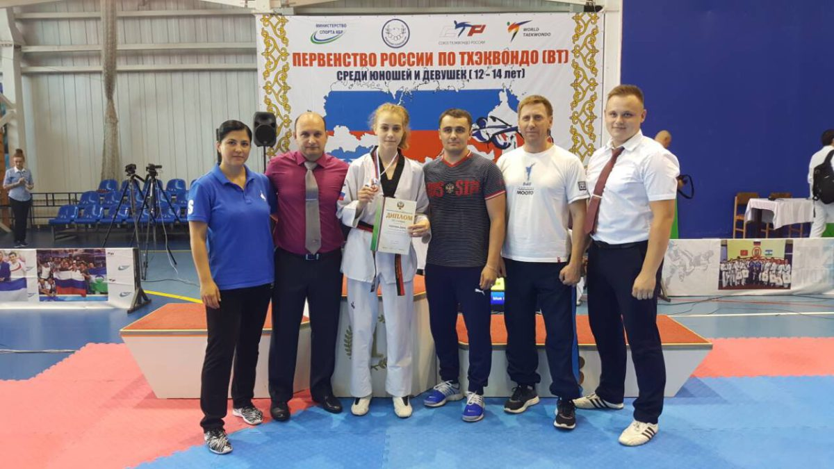 Рязанские спортсмены выступили на юношеском первенстве России в Нальчике