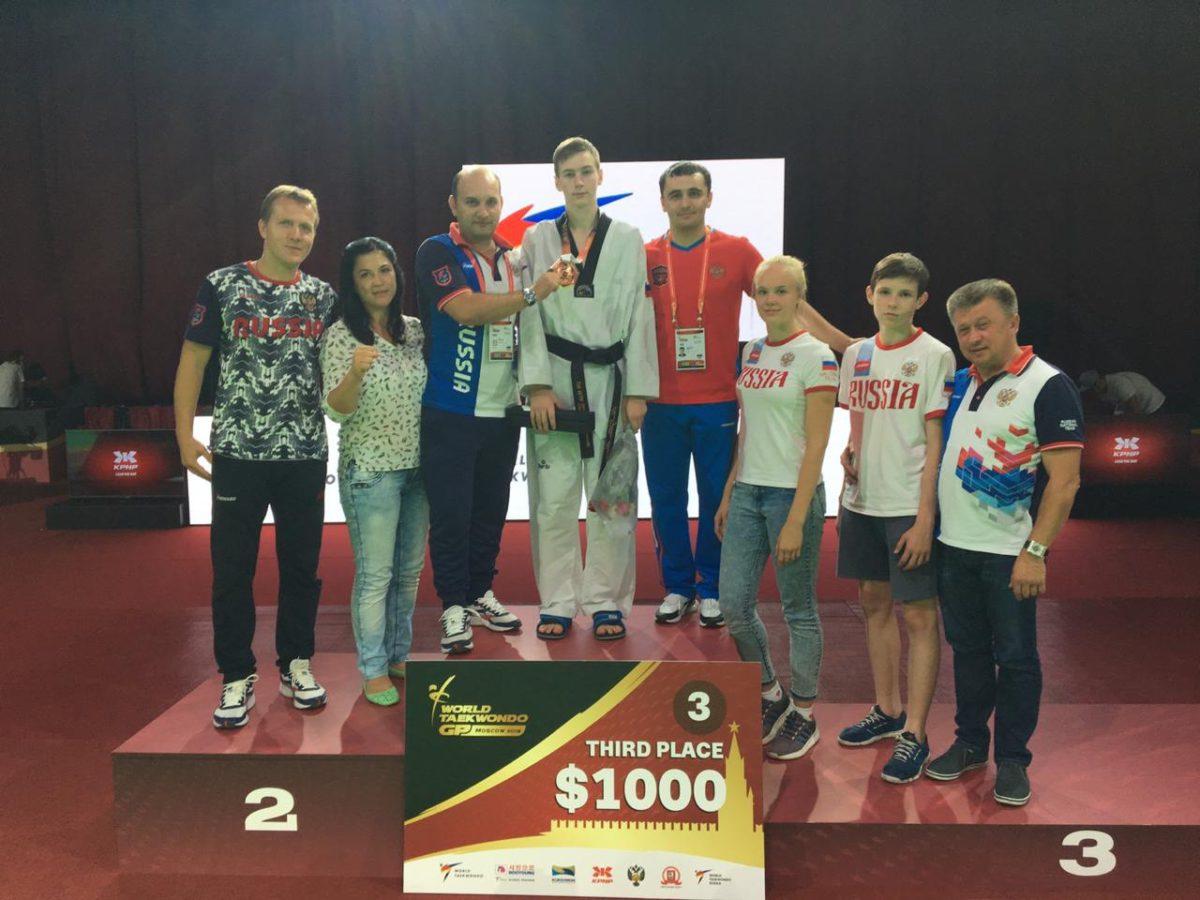 Андрей Канаев завоевал в Москве бронзу второго этапа мировой серии Гран-при