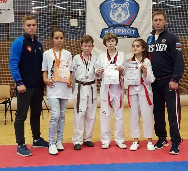 Рязанские спортсмены завоевали четыре медали IV открытого первенства спортивного клуба «Патриот»