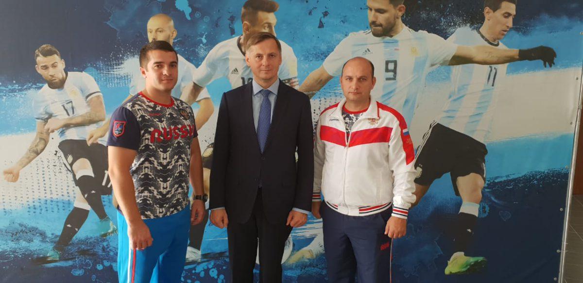 В Бронницах проходят учебно-тренировочные мероприятия юношеской сборной России