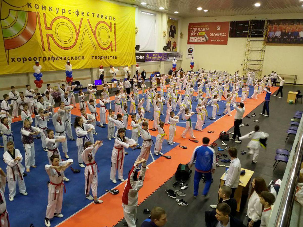 В Рязани прошёл Фестиваль тхэквондо, а также первенство города и командный Кубок Рязанской области