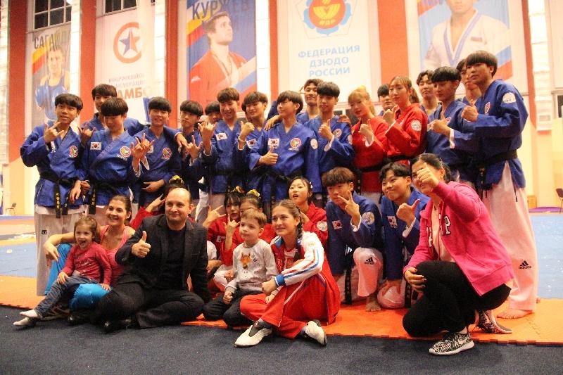 Корейские спортсмены показали в Рязани своё мастерство