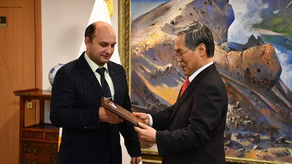 В южнокорейском посольстве обсудили проведение в Рязани турнира на Кубок посла Республики Корея