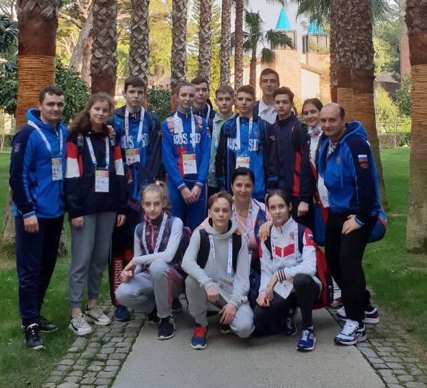 Рязанские спортсмены выступили в Турции на турнире 4th WT President's Cup