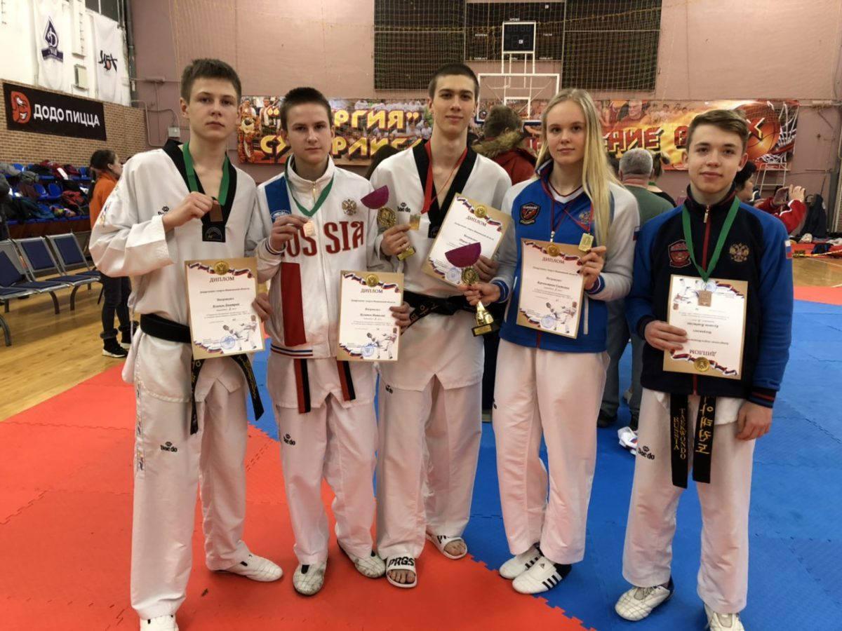 Рязанцы завоевали пять медалей первенства ЦФО среди молодёжи