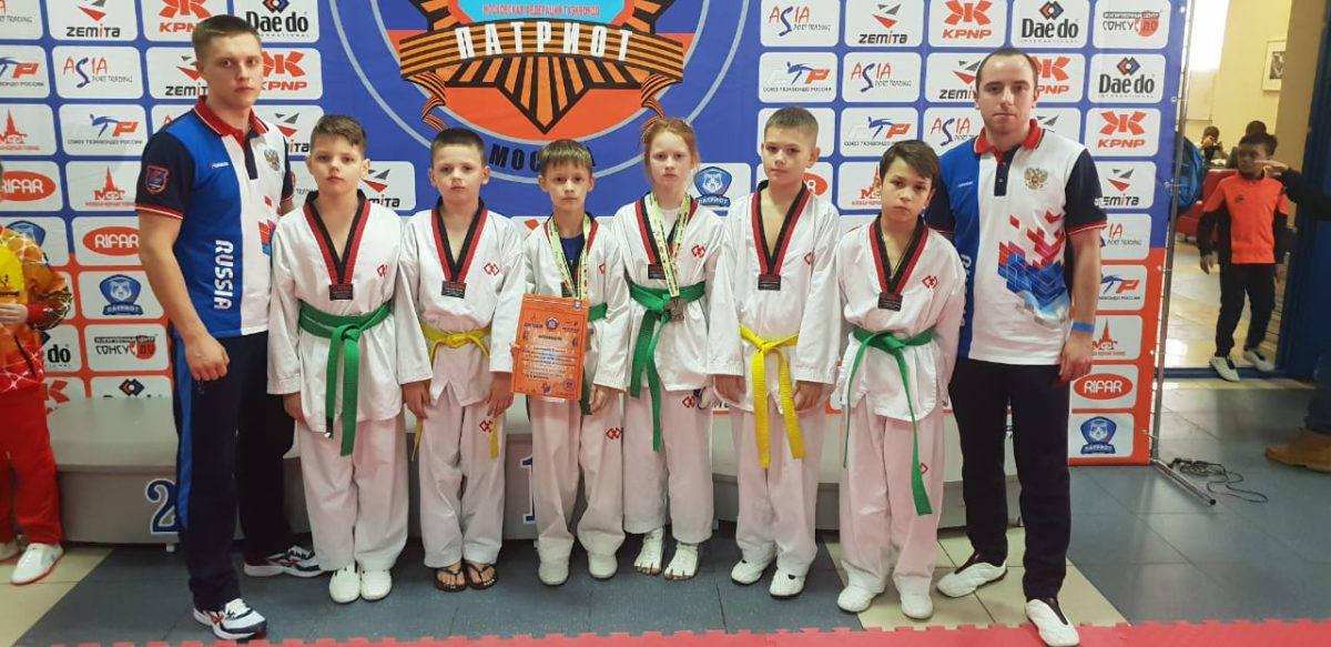 Рязанцы привезли домой 14 медалей с соревнований спортклуба «Патриот»
