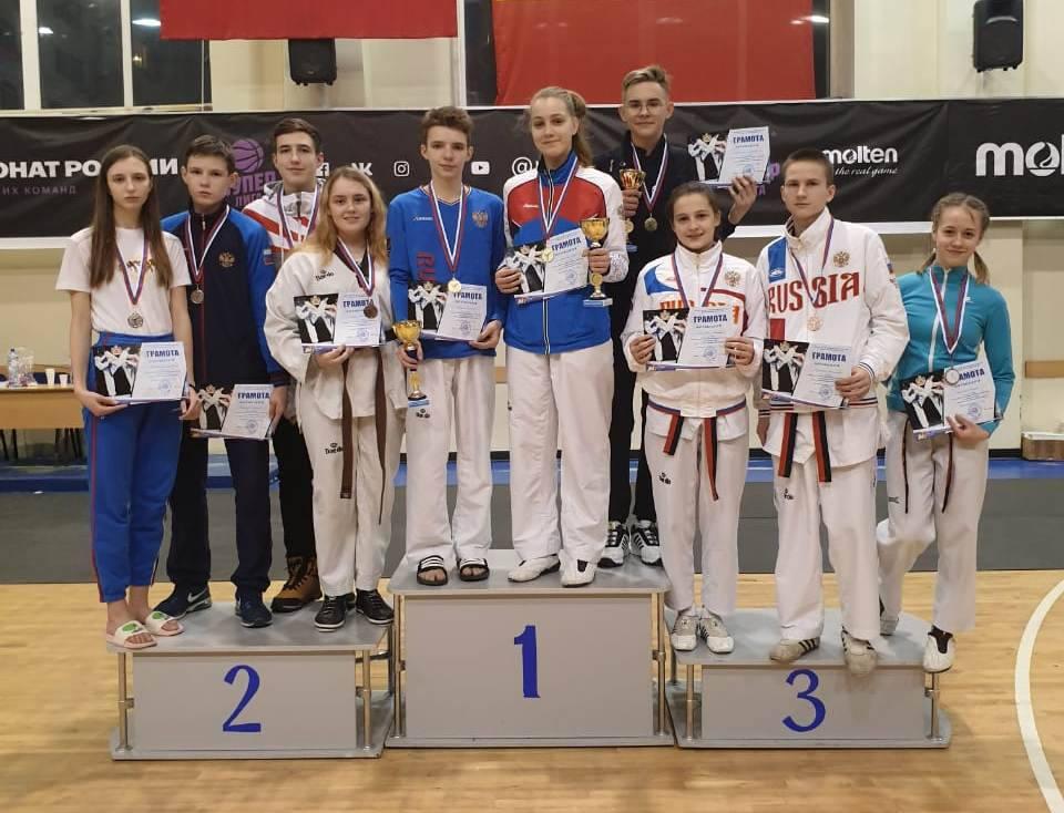 Рязанцы завоевали три золота первенства ЦФО среди юниоров