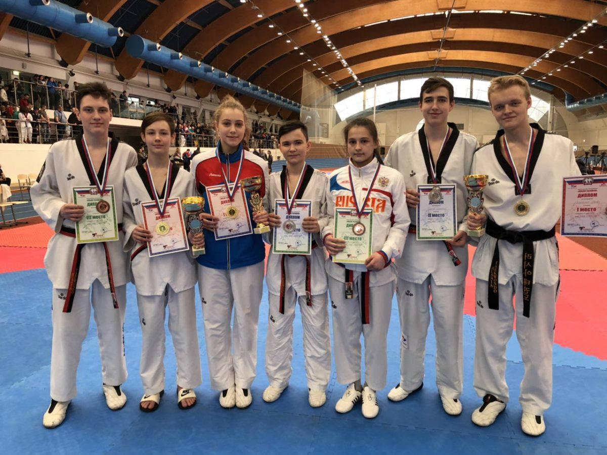 Рязанские спортсмены завоевали 16 медалей Всероссийских соревнований «Кубок Taekwon»
