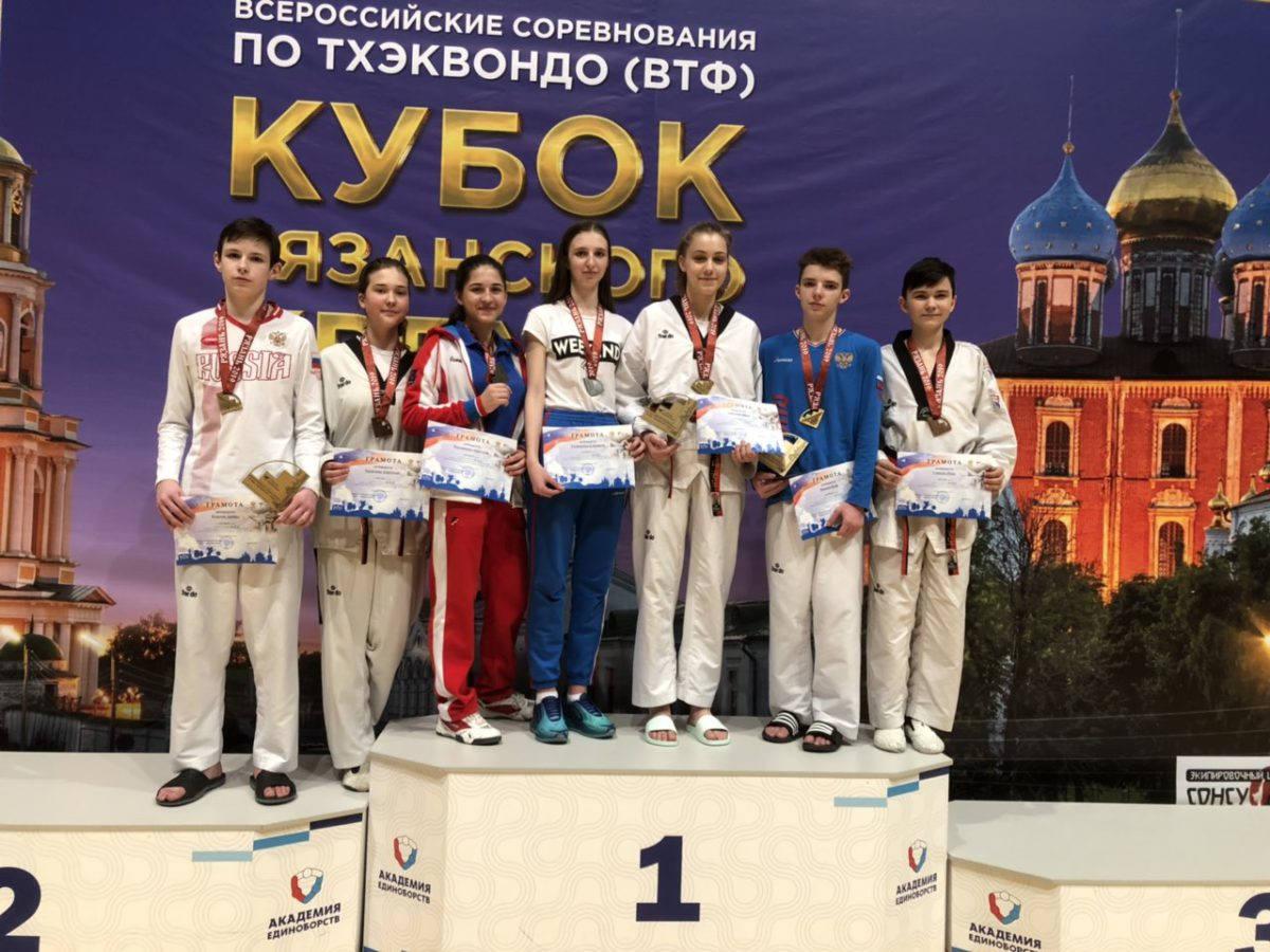 Состоялись XI Всероссийские соревнования «Кубок Рязанского кремля»