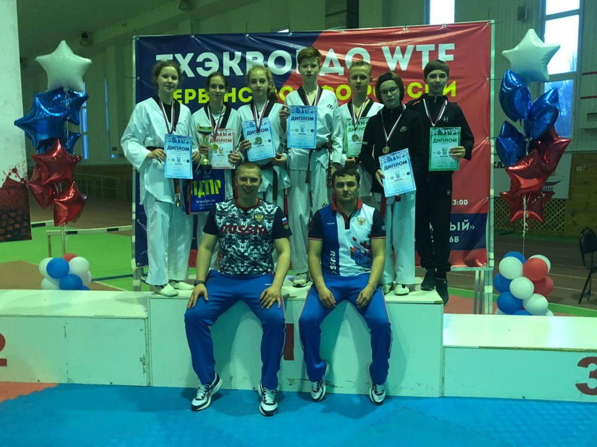 Рязанцы привезли с первенства ЦФО среди кадетов семь медалей