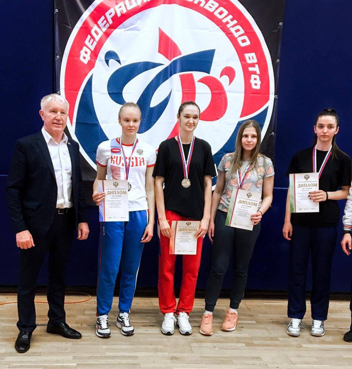 Рязанцы завоевали две серебряные медали на Всероссийских соревнованиях среди студентов