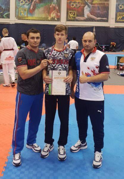 Рязанец завоевал бронзовую медаль первенства России среди кадетов