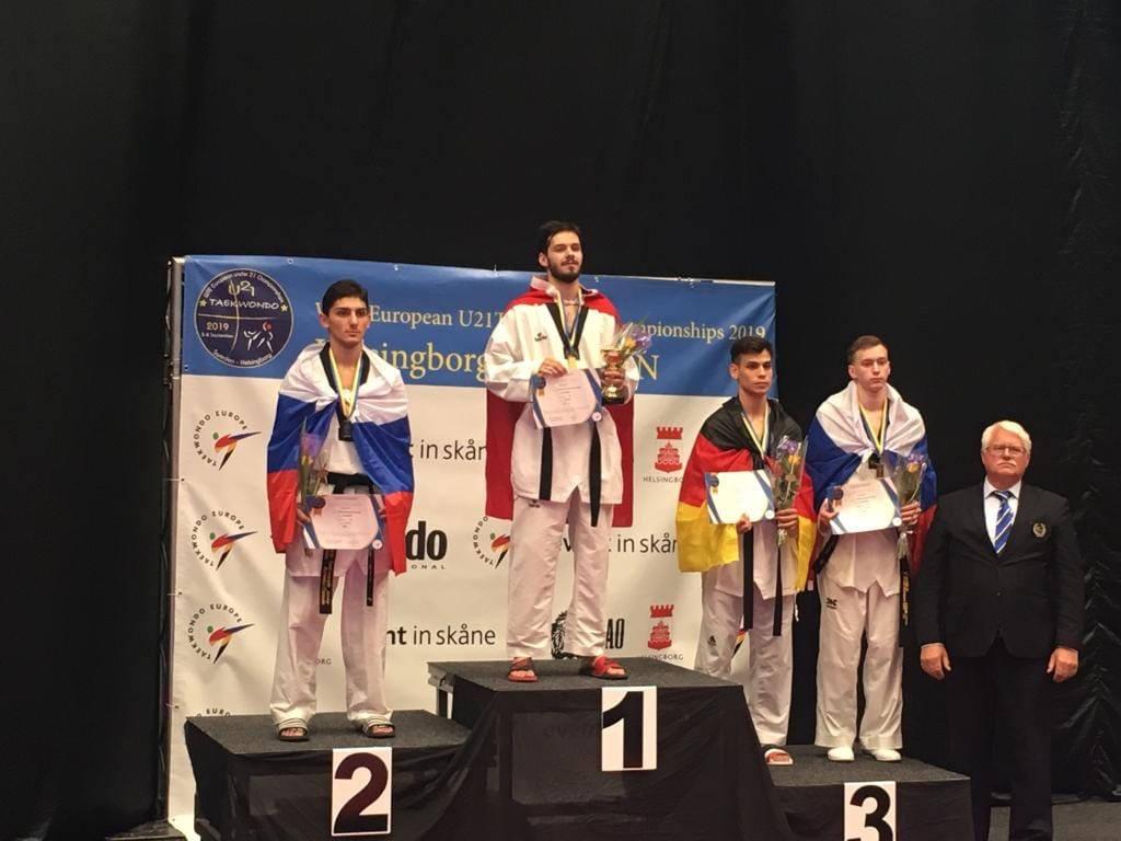 Рязанец завоевал бронзовую медаль молодёжного первенства Европы