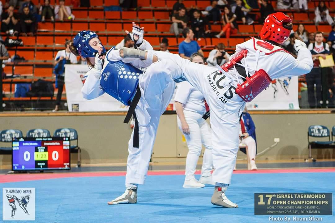 Рязанцы завоевали четыре медали 17th Israel Taekwondo Open Championships